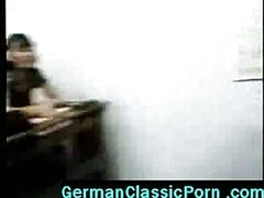 Big cock teacher gives horny girls sex lessons