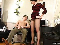 Rosa&Gilbert perverted hose job movie scene