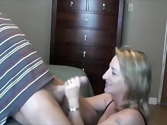 Wife Satisfies Horny Spouse