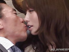 this babe does anything for her boss