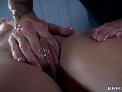 french babe oiled and butt fucked