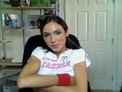 Teen Webcam Hotty at home