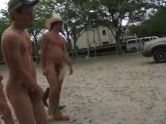 Nice farm boys are having fun running around and having great sex
