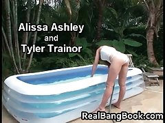 Alissa Ashley & Tyler Trainor Cute Lesbos