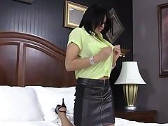 Ebony gal endures ultimate satisfaction from her stud