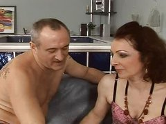 hawt and hairy  older fuck anal assfuck troia takes hard cock in the arse all the way tits