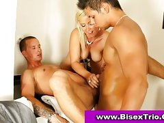 Bi sexual 3some sex